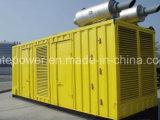 engine diesel containerisée Kta38-G5 de groupe électrogène de 1000kVA/800kw Cummins