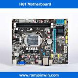 Heißes verkaufenDDR3 Motherboard des Speicher-H61 des Chipset-LGA1155 für Schreibtisch