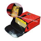 """"""" sacchetto della pizza 14 con i materiali impermeabili isolati per la consegna della pizza"""