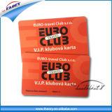 Scheda di /Membership del biglietto da visita/biglietto da visita del PVC di prezzi di fabbrica