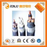 Câble inférieur de câblage cuivre de câble de fil de fumée d'halogène libre