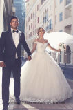 Мантии длины пола мантии шарика Tulle платья венчания Bridal