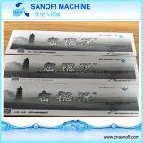 Escritura de la etiqueta material impresa de la funda del encogimiento de la escritura de la etiqueta PVC/Pet para la botella plástica