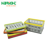 スタック可能Foldableプラスチック木枠の容器の転換ボックス