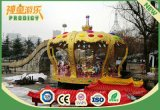 O recinto de diversão ao ar livre de 26 assentos alegre vai carrossel elétrico do círculo