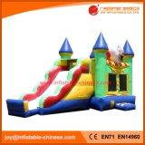 Aufblasbares springendes Belüftung-Plane-Spielzeug-federnd Schloss (T3-224)