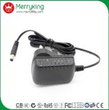 En60950 Britse AC gelijkstroom van de Stop 6V 1A de Adapter van de Levering van de Macht