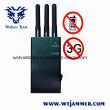 5-band de Draagbare 3G Stoorzender van het Signaal van de Telefoon van de Cel