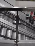 Acero inoxidable 304/pasamano de la escalera del balcón de 316 vidrios