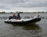Bateau extérieur de côte de vitesse de bateau d'engine de fibre de verre de Liya 4.3m