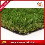 Общественной зеленую зону поддельные травы ландшафт искусственном газоне
