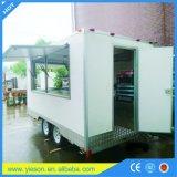 Restaurant électrique mobile de confiserie de modèle de chariot de nourriture de friteuse