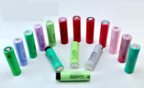 Cellule 2600mAh de batterie au lithium de la qualité 18650 du certificat 3.7V de BRI