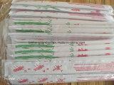 Eco-Friendly Pauzinhos de bambu com papel enrolado