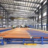 Superficie brillante perfil de mango de aluminio para muebles de uso