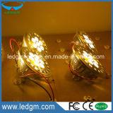 Lámpara externa de la aleación de aluminio del programa piloto del EMC LVD RoHS del Ce 7W 7*2W 14W AR111 G53 GU10 LED
