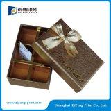 Rectángulos de empaquetado vendedores calientes del chocolate de lujo de la cartulina