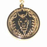 Catena decorativa su ordine della collana della moneta di oro di personalità
