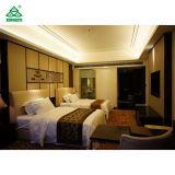 Het comfortabele Meubilair van de Slaapkamer van het Eenpersoonsbed Houten met Bekleed Leer