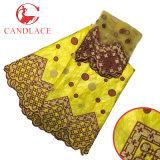 Оптовая африканская ткань Bazin Getzner Riche для повелительницы Одевать