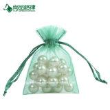 Personalizar o saco perfumado de seda de Organza completo Recyclable do Drawstring da cor dos doces