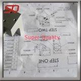 Personalizzare i pezzi meccanici di giro di CNC del tornio del metallo