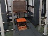 Máquina cortando e vincando semiautomática com sistema de registo dobro