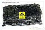 Esd-schwarzes Beutel-leitendes Rasterfeld-antistatische Beutel