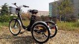 """24 """" tricicli elettrici adulti del carico delle 3 rotelle con la baracca"""