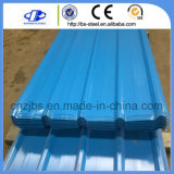 Hoja de acero revestida prepintada del material para techos del color de las placas de azotea del metal