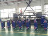 廃水の処理場の使用の版およびフレームの熱交換器