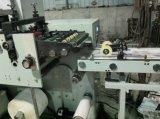 Flexo Pritning Maschine mit stempelschneidener und bedeckender Station