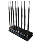 Jammer мобильного телефона наивысшей мощности 3G 4G и Jammer VHF WiFi UHF