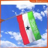 Mini bandierina tenuta in mano di segno su ordinazione di Somaliland
