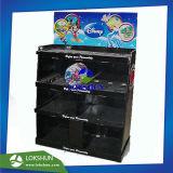 Taille standard de la moitié de l'affichage de la palette en carton avec étagères et des emplacements appropriés pour Kitchenwares, POS Carton Rack d'affichage