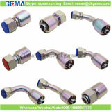 Guarniciones apropiadas hidráulicas de una pieza de la virola del manguito de la instalación de tuberías de la compresión que prensan