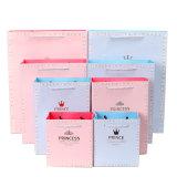 Рециркулированный роскошью мешок изготовленный на заказ покупкы логоса печатание упаковывая бумажный