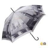 Gerader Dame-Regenschirm Großhandelsqualitätsbig- Benlondon