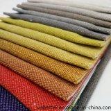 Tessuto da arredamento tinto filato della presidenza del sofà della tessile della famiglia del tessuto del poliestere