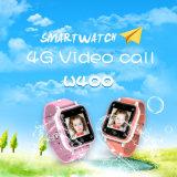 IP67는 영상 외침 사진기를 가진 아이 GPS 전화 시계를 방수 처리한다