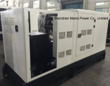 generatore di potere standby di valutazione del generatore diesel silenzioso della baracca di 100kVA Cummins