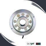9X3w l'éclairage à LED IP68 sous l'eau, sous-marin de l'eau, la Fontaine de la lampe témoin
