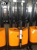 Empilhador 1000/1500/2000kg Semi-Elétrico real para a venda