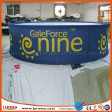 Große Handelsfarbe Sublimathion quadratische Decken-hängende Fahnen