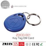 Porta de vídeo de destrancamento do cartão RFID telefone com teclado Pin