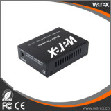 1X 100Base-FX a 4X 10/100Base UTP move conversores dos media do SC 20km de BIDI T1310/R1550nm