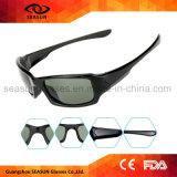 China mayorista de la marca personalizada Aviator gafas de sol para el ciclismo