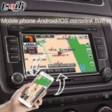 Rectángulo androide de la navegación del GPS del interfaz del coche de Mirrorlink para VW Skoda