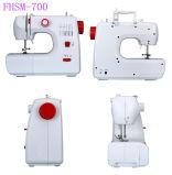 Fhsm-700 многофункциональный портативный Lockstitch Бытовые швейные машины с помощью ножной педали