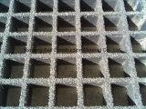 El panel moldeado de la reja de la fibra de vidrio, cóncavo o cerrado fuertemente, reja de Pultruded
